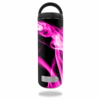 MightySkins RTBOT18-Pink Flames Skin for RTIC 18 oz Bottle 2016 Wrap Cover Sticker - Pink Fla - 1
