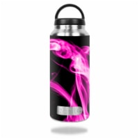 MightySkins RTBOT36-Pink Flames Skin for RTIC 36 oz Bottle 2016 Wrap Cover Sticker - Pink Fla - 1
