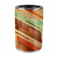 MightySkins OZCAN-Abstract Wood Skin for Ozark Trail 12 oz Can Wrap Cover Sticker - Abstract