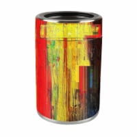 MightySkins OZCAN-Painted Wood Skin for Ozark Trail 12 oz Can Wrap Cover Sticker - Painted Wo - 1