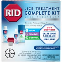RID Lice Treatment Complete Kit