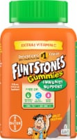 Flintstones with Immunity Support Kids Multivitamin Gummies 60 Count