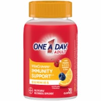 One A Day® VitaCraves Immunity Support Adult Multivitamin/Multimineral Supplement Gummies - 70 ct