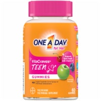One A Day Teen Gummies for Her Vitacrave Multivitamin Gummies