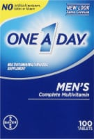 One A Day Mens Health Tablets 100 Count