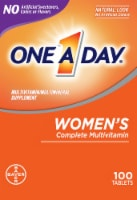 One A Day Women's Multivitamin Tablets 100 Count