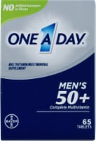 One A Day Men's 50+ Complete Multivitamin Tablets