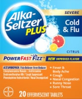 Alka-Seltzer Plus Citrus Severe Cold and Flu Relief Effervescent Tablets