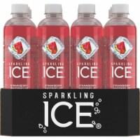 Sparkling Ice Strawberry Watermelon Sparkling Water - 12 botles / 17 fl oz