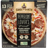 Sweet Earth Pepperoni Lover's Plant-Based Pepperoni Pizza