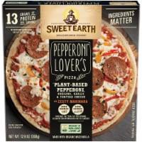 Sweet Earth Pepperoni Lover's Plant-Based Pepperoni Pizza - 12.9 oz