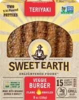 Sweet Earth Natural Foods Vegan Teriyaki Veggie Burger