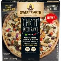 Sweet Earth Chik'n Bacon Ranch Vegetarian Pizza