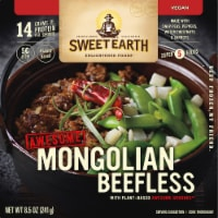 Sweet Earth Awesome Mongolian Beefless Frozen Meal