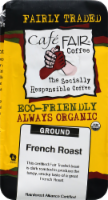 Cafe Fair Organic French Roast Ground Coffee - 10 oz