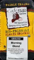 Cafe Fair Organic Morning Blend Ground Coffee - 12 oz