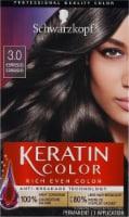 Schwarzkopf Keratin Color 3.0 Espresso Permanent Hair Color Kit