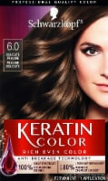 Schwarzkopf Keratin Color Delicate Praline 6.0 Hair Color