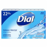 Dial Antibacterial Deodorant Soap, Spring Water (4 Ounce, 22 Count) - 1 unit
