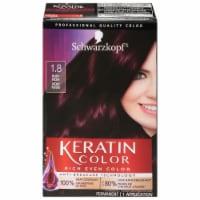 Schwarzkopf Keratin Color Ruby Noir 1.8 Hair Color Kit
