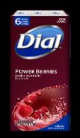 Dial Power Berries Skin Care Soap Bars