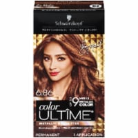 Schwarzkopf Color Ultime Permanent Hair Color Sparkly Light Brown 6.86