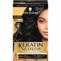 Schwarzkopf Keratin Color Jet Black 1.0 Hair Color