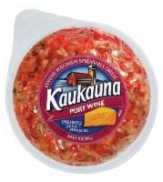 Kaukauna Port Wine Spreadable Cheese with Almonds