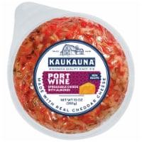 Kaukauna Port Wine Cheeseball