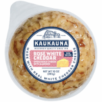 Kaukauna Rose White Cheddar Cheeseball