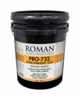 ROMAN PRO-732 Extra Strength Clay/Modified Starches Wallpaper Adhesive 5 gal. - Case Of: 1 - Count of: 1