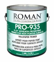 Roman  R-35  Clear  Water-Based  Acrylic  Wallcovering Primer  1 gal. - Case Of: 4; - Case of: 4