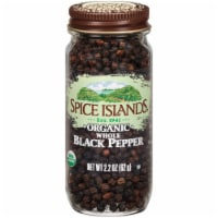 Spice Islands Organic Whole Black Pepper