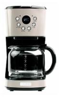 Haden Dorset Modern Programmable Coffee Maker - Putty - 12 c