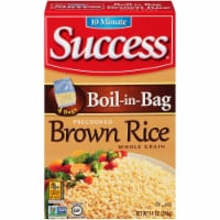 Success Boil-in-Bag Whole Grain Brown Rice 4 Count