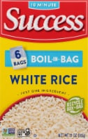 Success Boil-in-Bag Precooked White Rice 6 Count