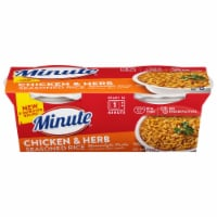 Minute Ready to Serve Chicken Rice Mix Cups 2 Count