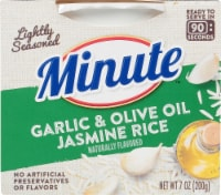 Minute Garlic & Olive Oil Jasmine Rice