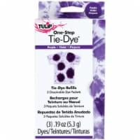 Tulip One-Step Tie-Dye Refill .13oz 3/Pkg-Purple - 1