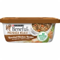 Beneful Prepared Meals Roasted Chicken Recipe Wet Dog Food 8 Count