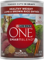 Purina ONE SmartBlend Healthy Weight Tender Cuts Lamb & Brown Rice Entree Adult Wet Dog Food