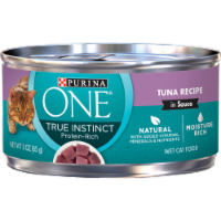 Purina ONE Natural True Instinct Protein Rich Tuna Recipe Wet Cat Food