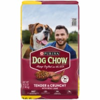 Dog Chow Tender & Crunchy with Real Lamb Adult Dry Dog Food