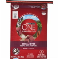 Purina ONE SmartBlend Small Bites Beef & Rice Formula Natural Dry Dog Food