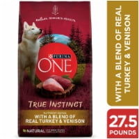Purina ONE SmartBlend True Instinct Turkey & Venison Natural Dry Dog Food