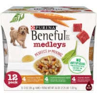 Beneful Medleys Tuscan Romana and Mediterranean Style Wet Dog Food Variety Pack