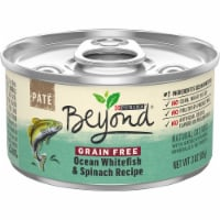 Beyond® Grain Free Ocean Whitefish & Spinach Recipe Pate Wet Cat Food - 3 oz