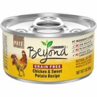 Beyond® Grain Free Chicken & Sweet Potato Recipe Pate Wet Cat Food - 3 oz