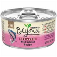 Beyond® Grain-Free Wild Salmon Recipe Pate Wet Cat Food - 3 oz