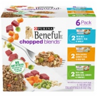 Beneful Chopped Blends Wet Dog Food Variety Pack